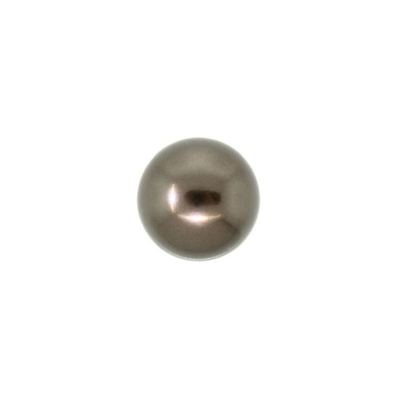 8MM Crystal Pruun Ümmargune Pärl (001 815) 5810 SWAROVSKI ELEMENTS
