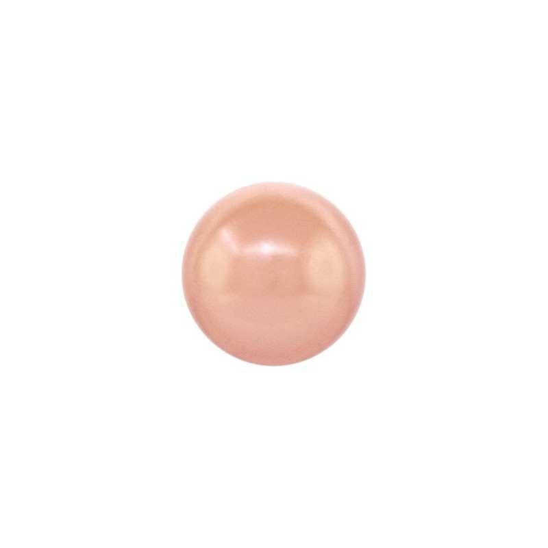 10MM Crystal Rose Gold Pearl (001 769) 5810 SWAROVSKI ELEMENTS