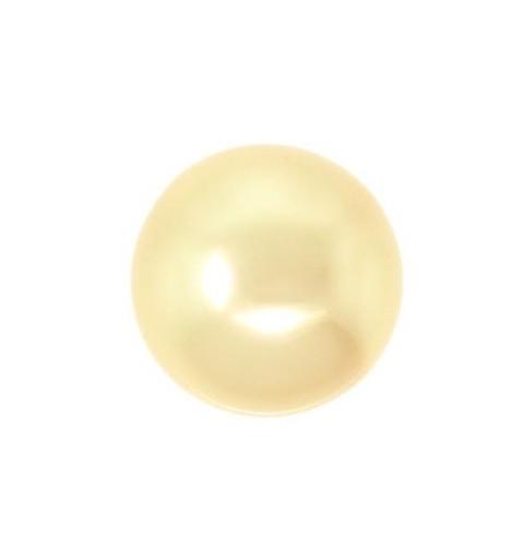 12MM Kuldne Crystal Ümmargune Pärl (001 296) 5810 SWAROVSKI ELEMENTS