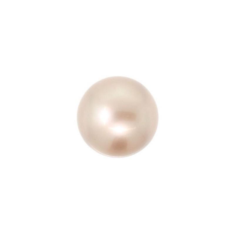 6MM Powder Almond Kristall Ümmargune Pärl (001 305) 5810 SWAROVSKI ELEMENTS