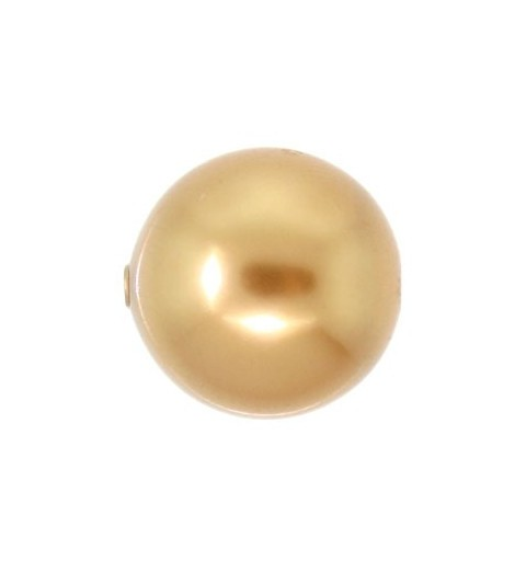 12MM Särav Kuld Kristall Ümmargune Pärl (001 306) 5810 SWAROVSKI ELEMENTS