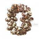 Sterling 925 Hõbe Rondell lilledega 7.4x3.3mm