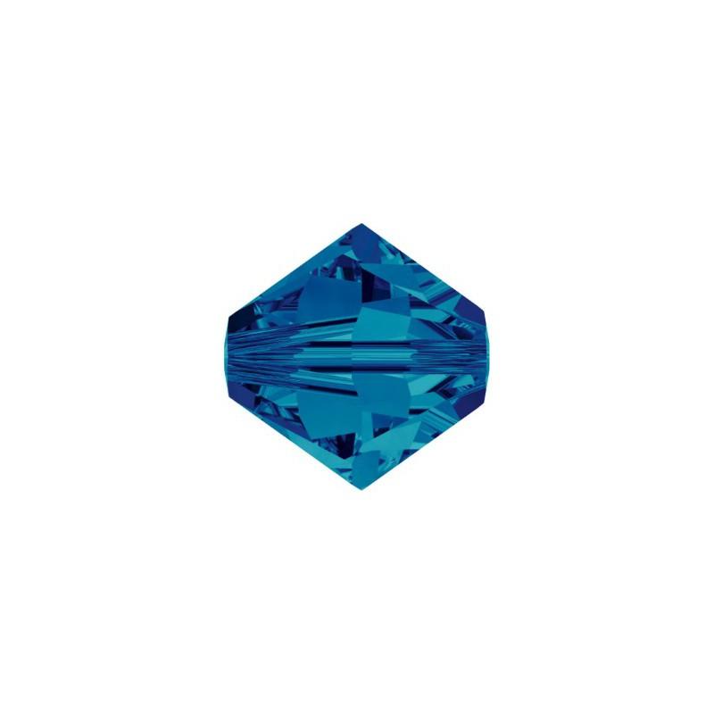 3MM Crystal Dorado 2x (001 DOR2) 5328 XILION Bi-Cone Beads SWAROVSKI ELEMENTS