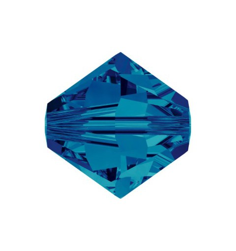 3MM Crystal Bermuda Blue (001 BB) 5328 XILION Bi-Cone Helmes SWAROVSKI ELEMENTS