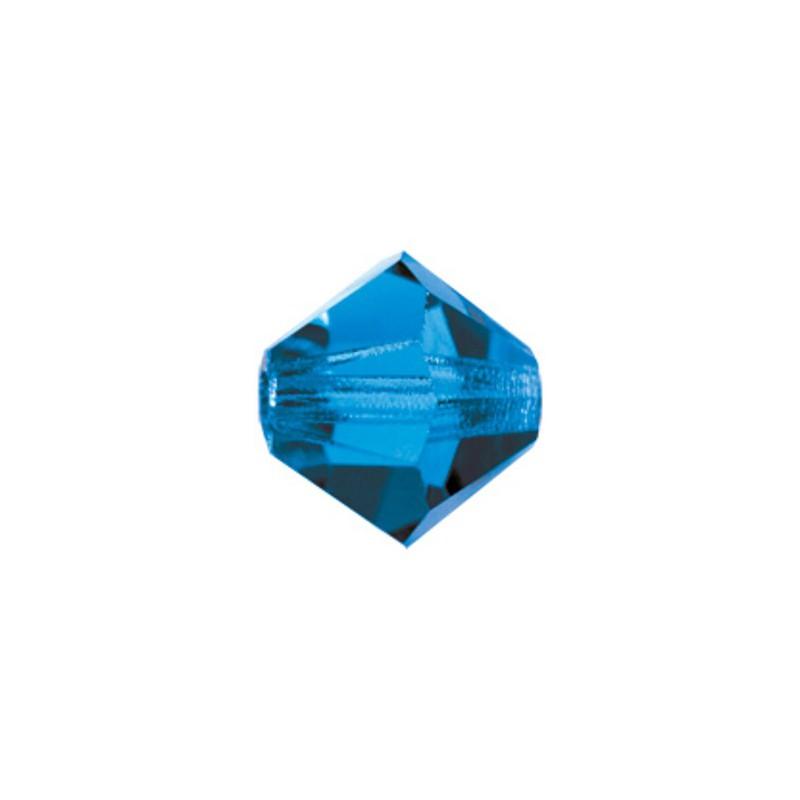3MM Violet (20310) Bi-Cone Rondell Preciosa Beads