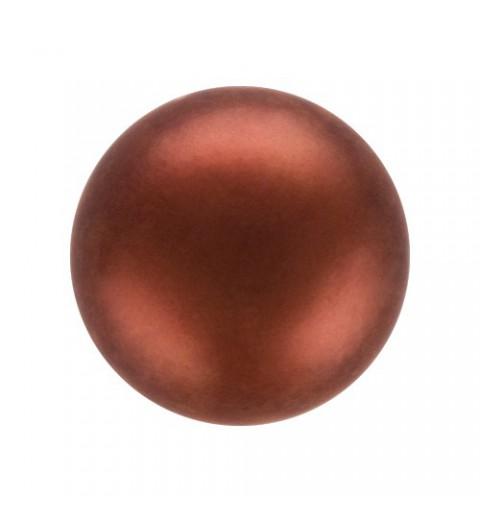 12MM Dark Copper (78900) Nacre Pearl round Preciosa
