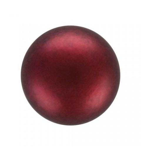 12MM Bordeaux (79900) Nacre Pearl round Preciosa