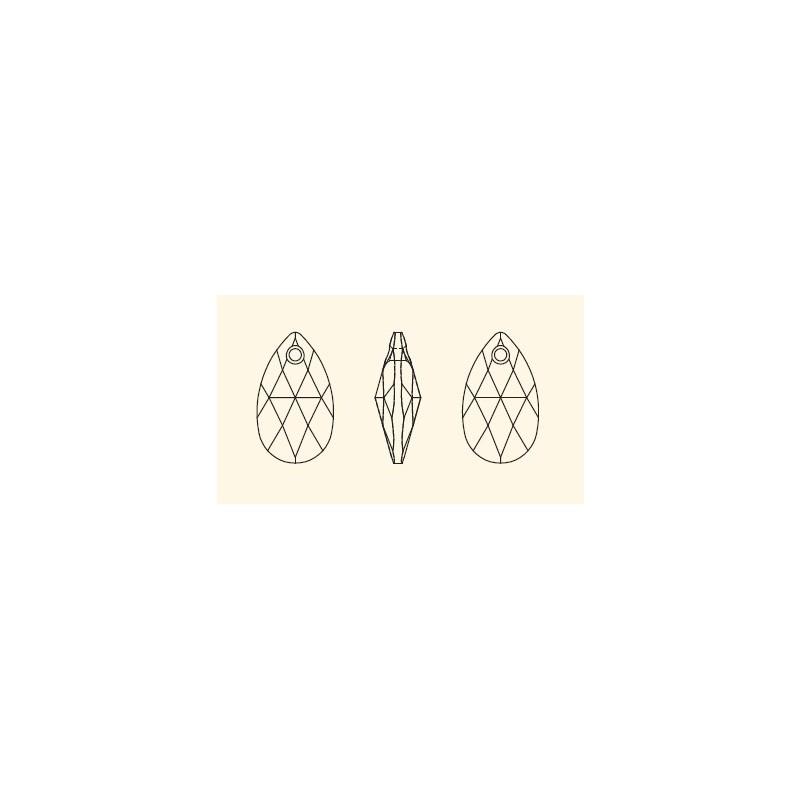 22MM Crystal SILVER SHADE (001 SSHA) 6106 SWAROVSKI ELEMENTS