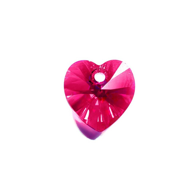 10.3x10MM Emerald AB (205 AB) XILION Heart Pendants 6228 SWAROVSKI ELEMENTS