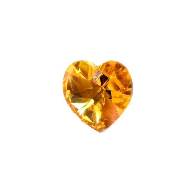 10.3x10MM Fuchsia AB (502 AB) XILION Сердце Подвески 6228 SWAROVSKI ELEMENTS