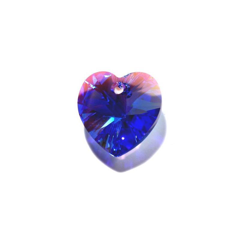 10.3x10MM Peridot AB (214 AB) XILION Сердце Подвески 6228 SWAROVSKI ELEMENTS