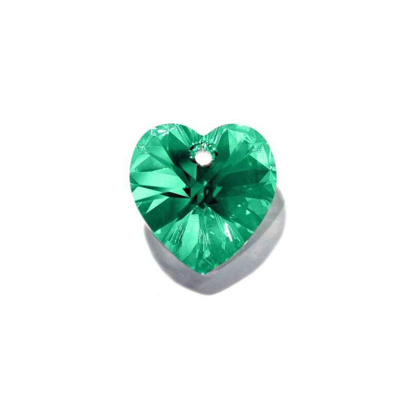 10.3x10MM Light Topaz AB (226 AB) XILION Heart Pendants 6228 SWAROVSKI ELEMENTS