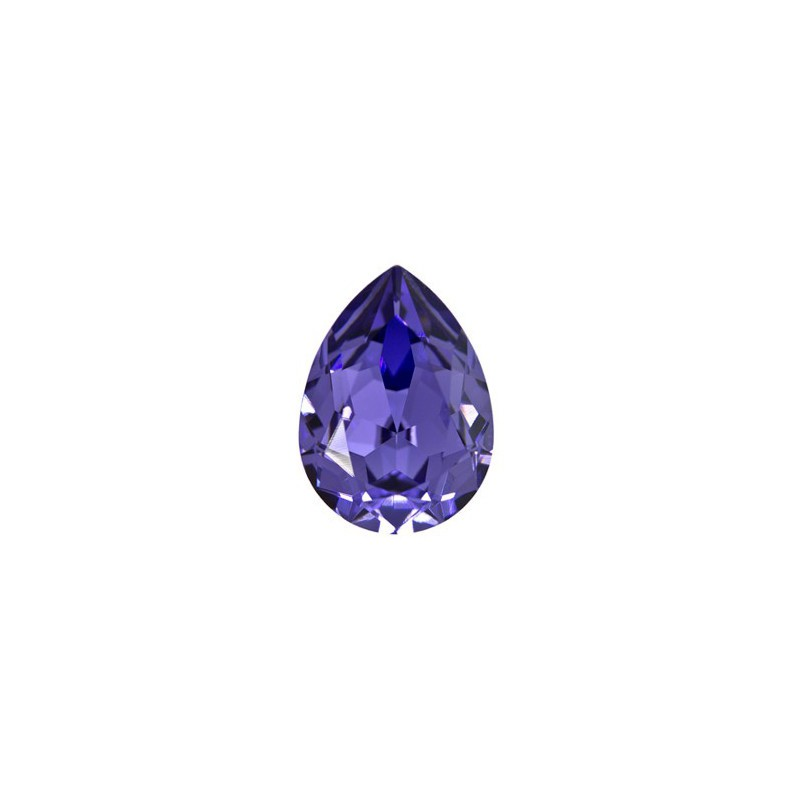 14x10mm Rose F (209) Pear-Shaped Fancy Stone 4320 Swarovski Elements