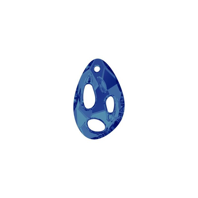 34x22MM Crystal Bermuda Blue P (001 BB) Radiolarian Ripatsid PF 6730 SWAROVSKI ELEMENTS