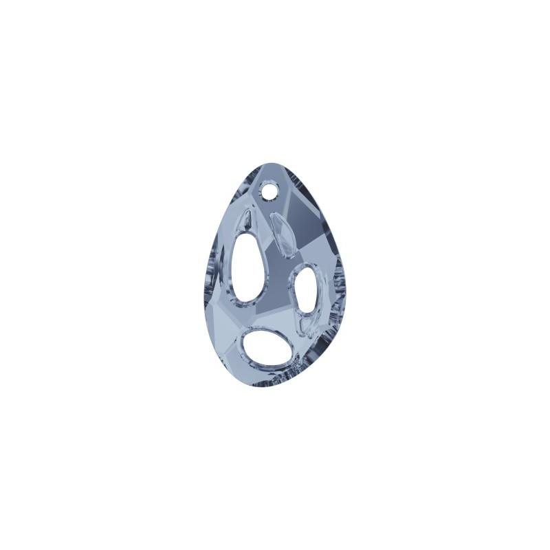 34x22MM Crystal Blue Shade (001 BLSH) Radiolarian Ripatsid PF 6730 SWAROVSKI ELEMENTS