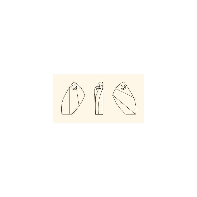 20MM INDICOLITE (379) 6620 SWAROVSKI ELEMENTS
