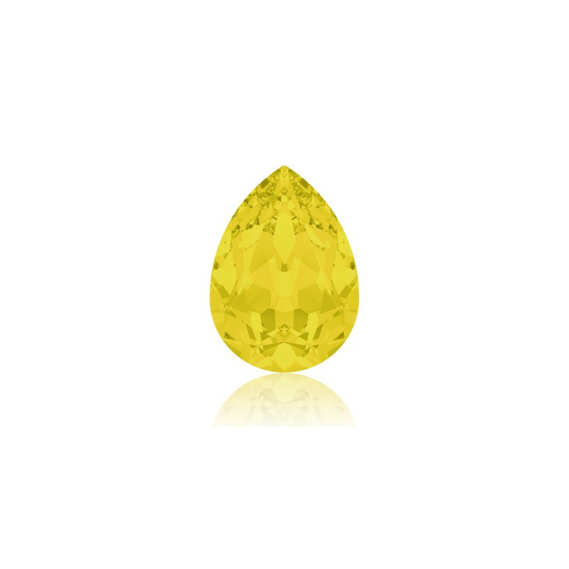 14x10mm Yellow Opal F (231) Pear-Shaped Fancy Stone 4320 Swarovski Elements