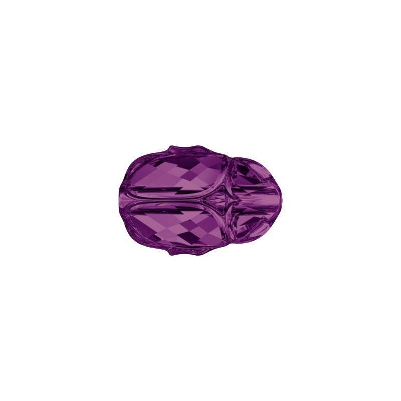 12MM Amethyst (204) 5728 Scarab Bead SWAROVSKI ELEMENTS