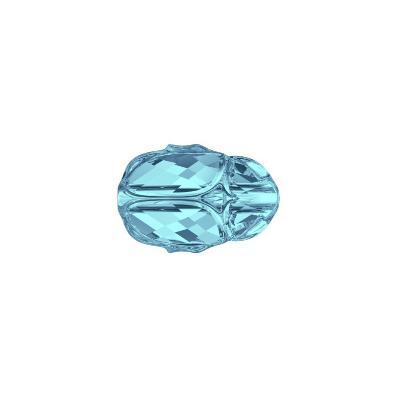 12MM Aquamarine (202) 5728 Scarab Bead SWAROVSKI ELEMENTS