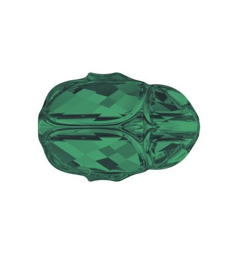 12MM Emerald (205) 5728 Scarab Helmes SWAROVSKI ELEMENTS