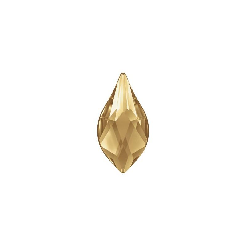 14MM Crystal AB F (001 AB) 2205 Flame Flat Back SWAROVSKI ELEMENTS