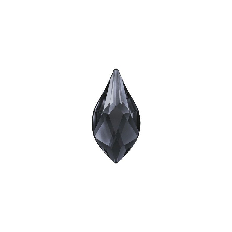 14MM Crystal Silver Night (001 SINI) 2205 Flame Lame Põhjaga SWAROVSKI ELEMENTS