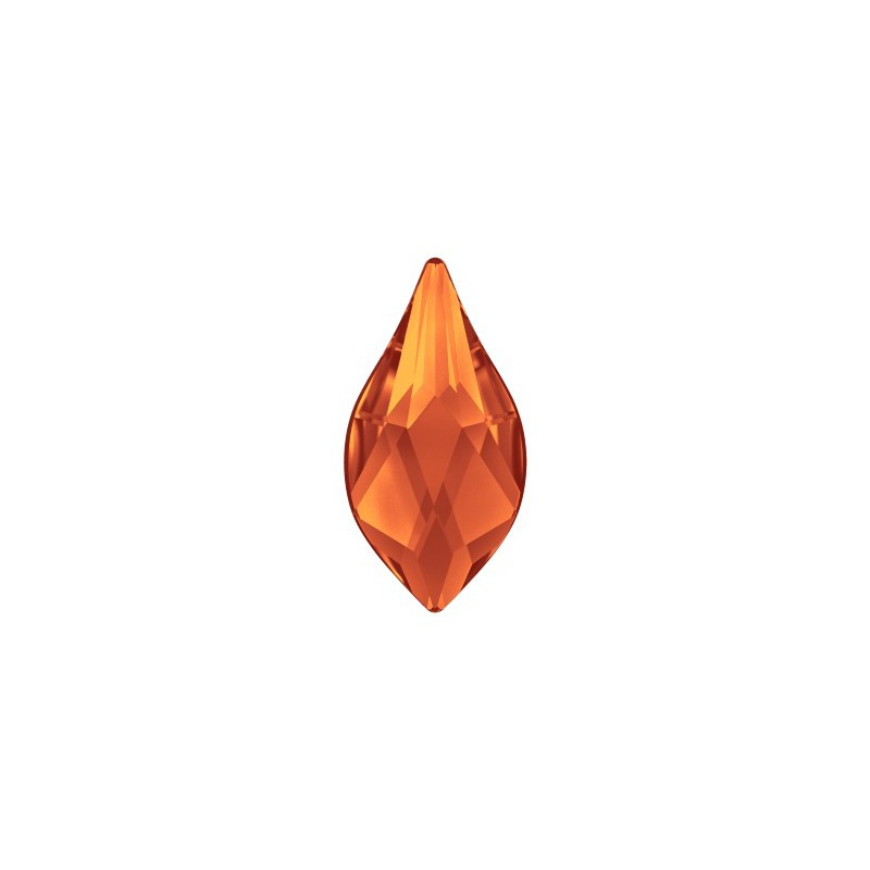 14MM Crystal Silver Night (001 SINI) 2205 Flame Flat Back SWAROVSKI ELEMENTS