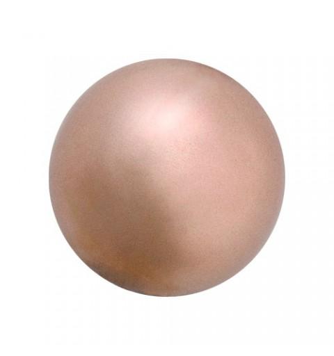 12MM Bronze (78800) Pärlmutter Ümmargune – Semi 1/2H Pärl Preciosa