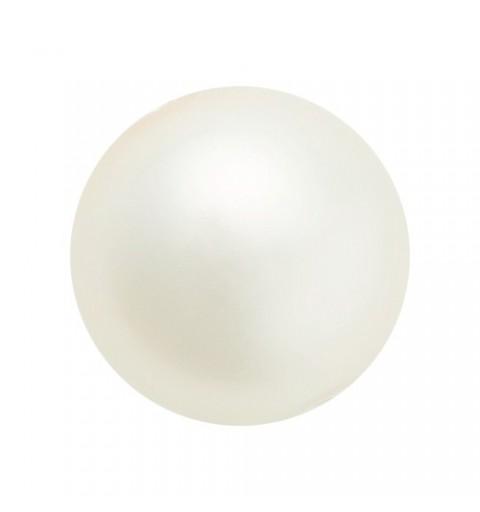12MM Light Creamrose (77000) Pärlmutter Ümmargune – Semi 1/2H Pärl Preciosa
