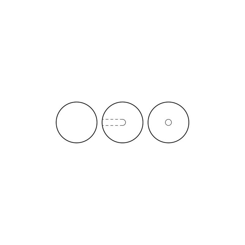 12MM Creamrose (77500) Nacre Pearl round – semi 1/2H Preciosa