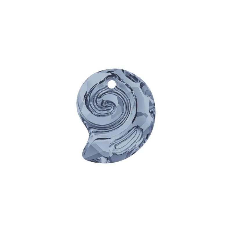 14MM Crystal AB (001 AB) Sea Snail Pendant PF 6731 SWAROVSKI ELEMENTS