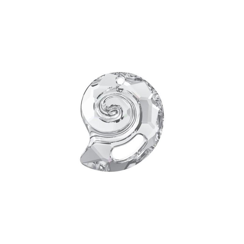 28MM Crystal (001) Sea Snail Pendant PF 6731 SWAROVSKI ELEMENTS