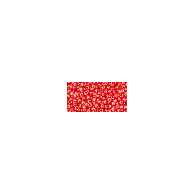TR-11-405 Opaque-Rainbow Cherry TOHO Seed Beads