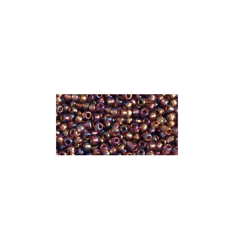 TR-11-1809 Copper-Lined Rainbow Lt. Amethyst TOHO Seed Beads