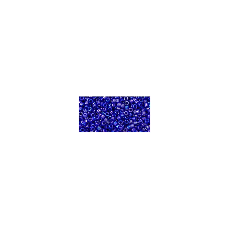 TT-01-201 Gold-Lustered Amethyst TOHO Treasures Seed Beads