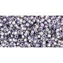 TT-11-924 Inside-Color Jonquil/Peach Lined TOHO Treasures Seed Beads