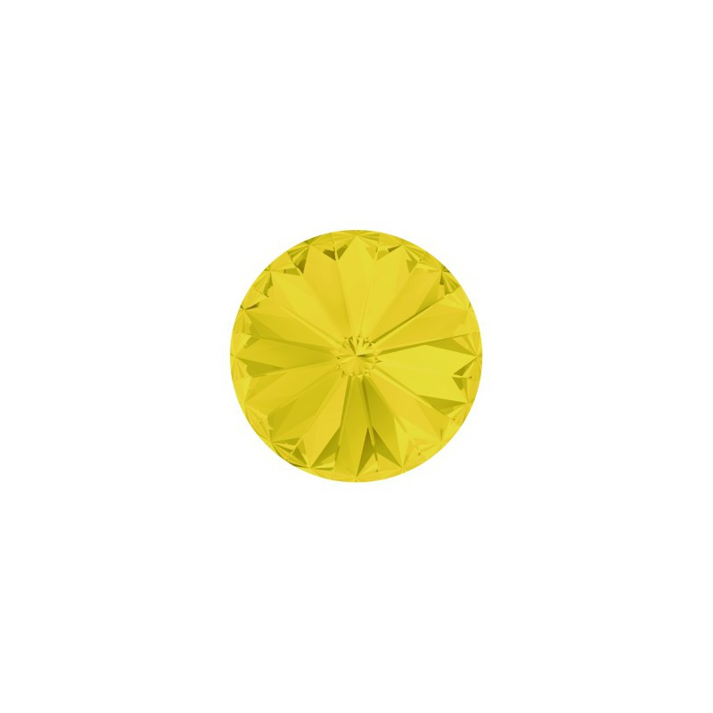 12MM Yellow Opal F (231) 1122 Rivoli Chaton SWAROVSKI ELEMENTS
