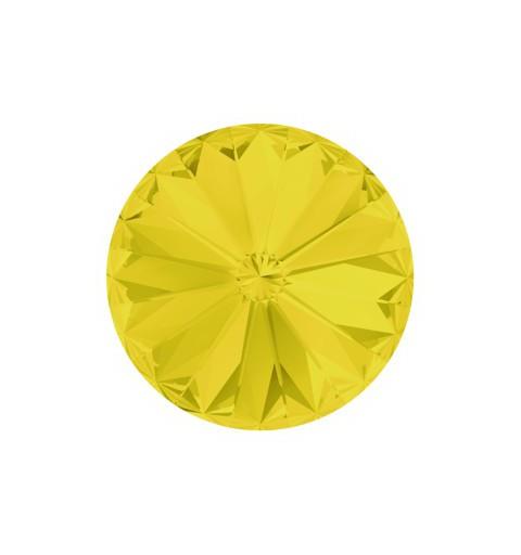 12MM Yellow Opal F (231) 1122 Rivoli Chaton SWAROVSKI ELEMENTS