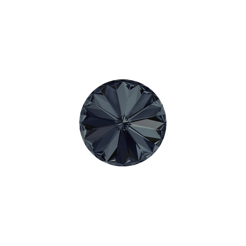 12MM Graphite F (253) 1122 Rivoli Chaton SWAROVSKI ELEMENTS