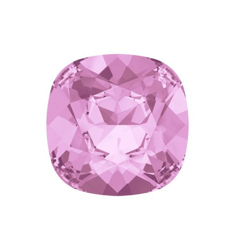 10mm 4470 Rosaline F (508) Cushion Square Fancy Stone Swarovski Elements