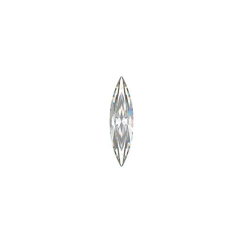 35x9.5mm Crystal F (001) Sphinx Eye Fancy Stone 4200 Swarovski Elements
