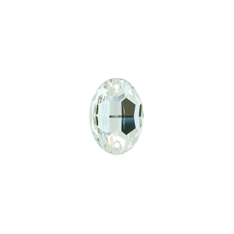 24x17MM Crystal F (001) 3210 Oval SWAROVSKI ELEMENTS