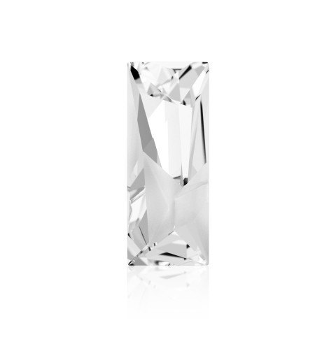 23x9mm Crystal F (001) Kaputt Baguette Fancy Stone 4925 Swarovski Elements