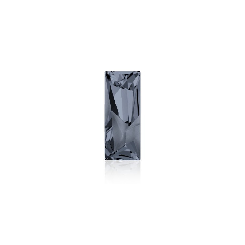 29x11.5mm Crystal Silver Night (001 SINI) Kaputt Baguette Ehete Kristall 4925 Swarovski Elements
