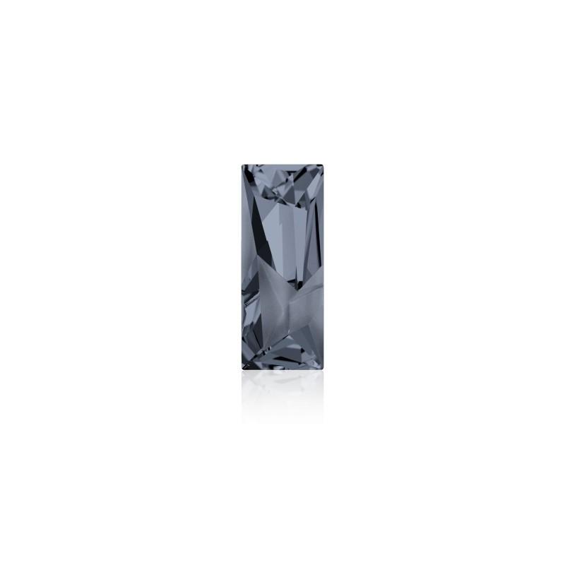 29x11.5mm Crystal Silver Night (001 SINI) Kaputt Baguette Fancy Stone 4925 Swarovski Elements