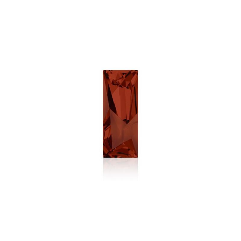 29x11.5mm Crystal Red Magma F (001 REDM) Kaputt Baguette Fancy Stone 4925 Swarovski Elements