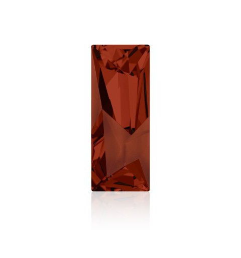 29x11.5mm Crystal Red Magma F (001 REDM) Kaputt Baguette Fancy Stone 4925 Swarovski Elements