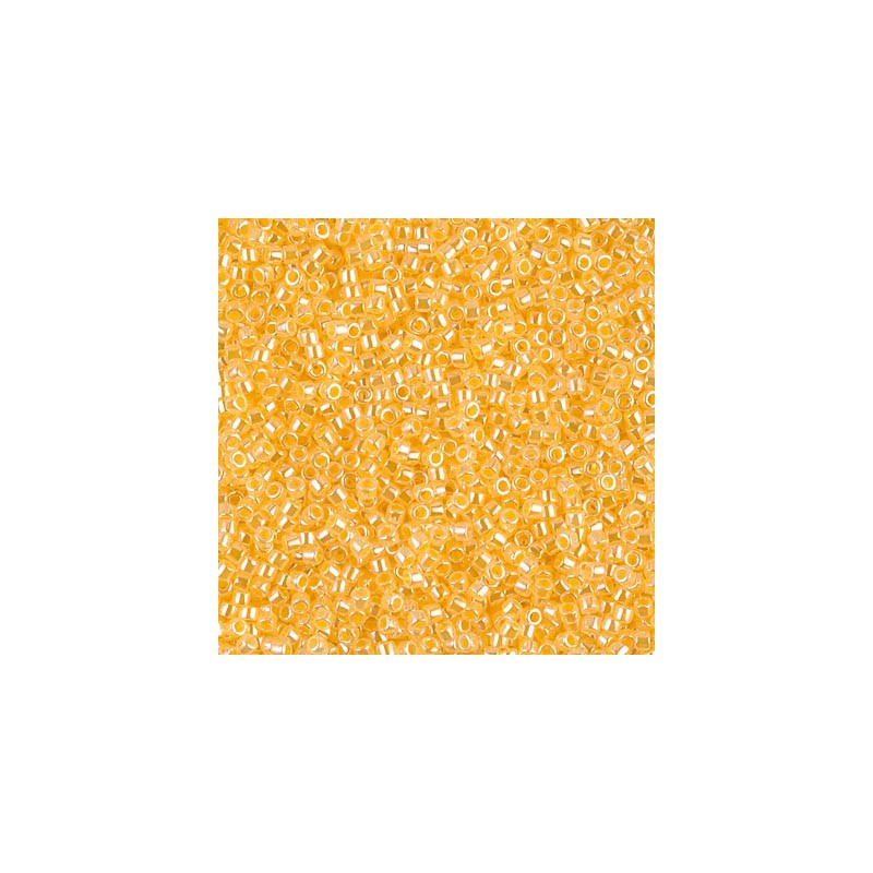 DB-160 Opaque Yellow AB MIYUKI DELICA 11/0 seed beads