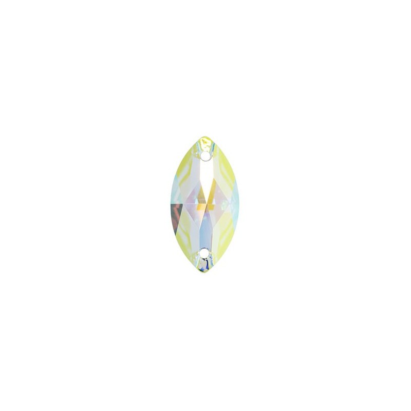 18x9MM CRYSTAL AB F (001 AB) 3223 Navette SWAROVSKI ELEMENTS