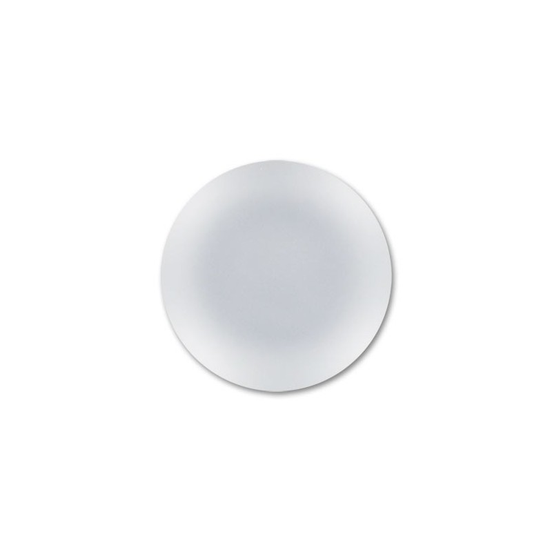 24mm Crystal Lunasoft Lucite Round Cabochon